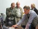 Николай Суровцев представляет результаты эксперимента